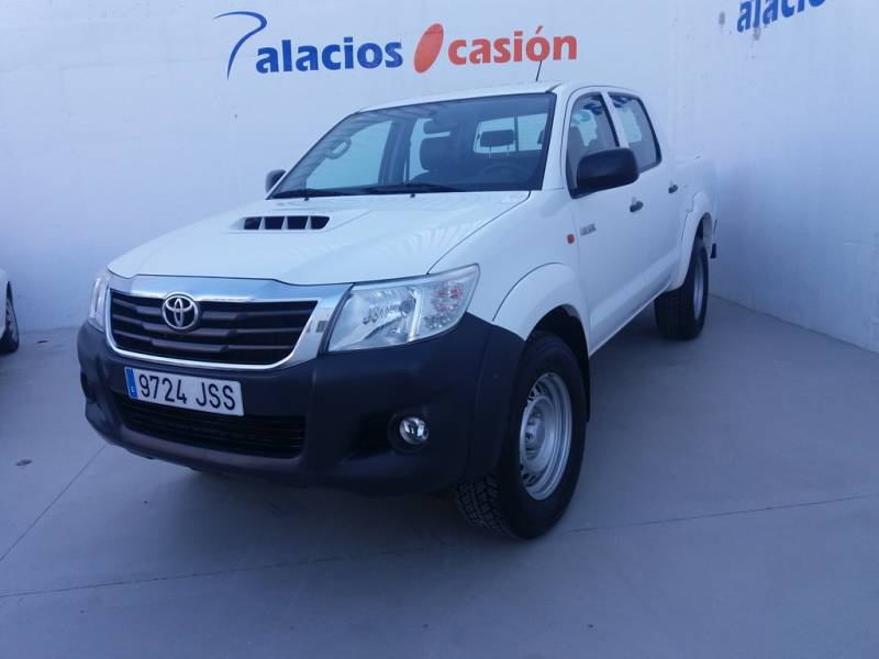 Toyota Hilux 2.5 D-4D Doble Cabina 4x4 Aire acond. GX