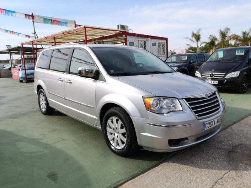 Chrysler Grand Voyager 2.8 CRD Entretenimiento Limited