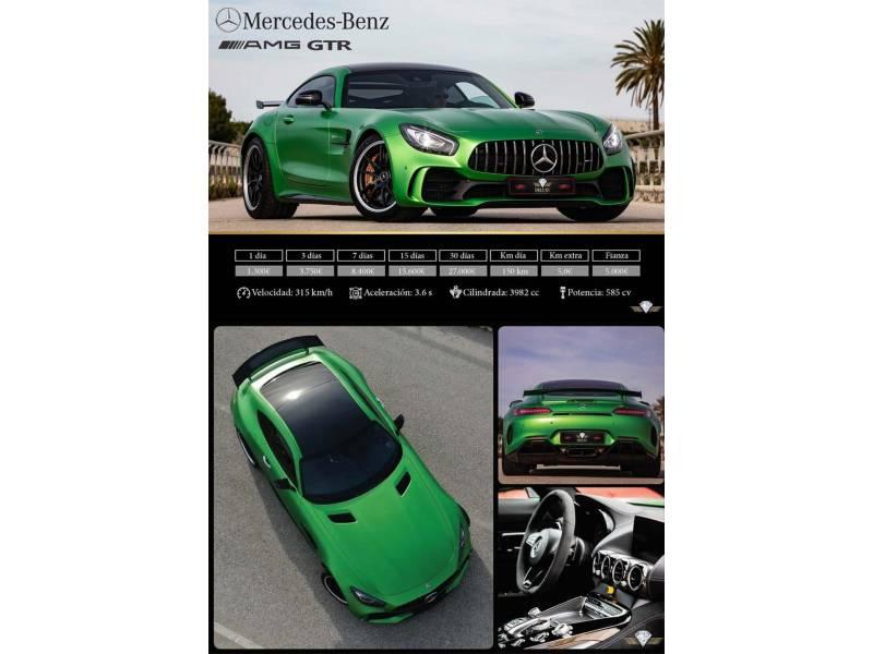 Mercedes-Benz AMG GT 4.0 R