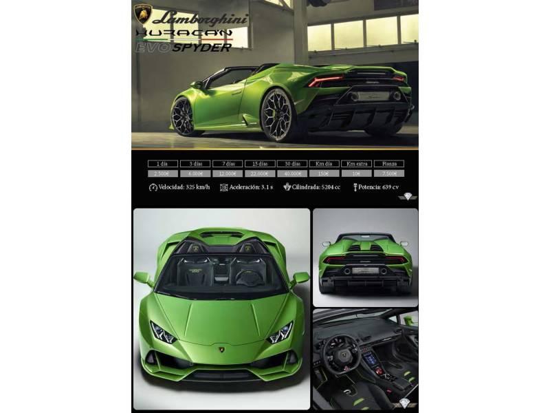 Lamborghini Gallardo 5.2 HURACAN EVO SPIDER