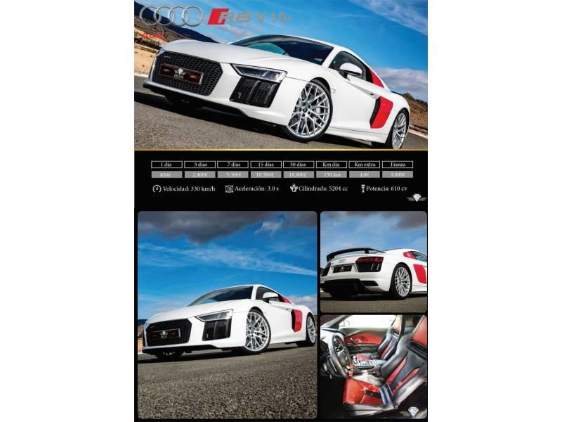 Audi R8 5.2 FSI V10 plus 610CV quattro S tronic -