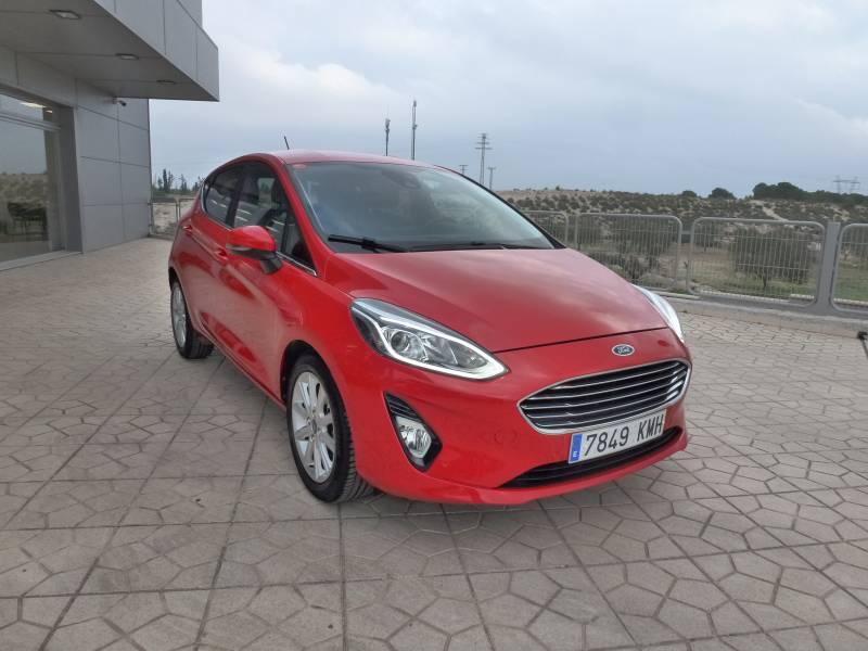 Ford Fiesta 1.0 EcoBoost 100cv   Start-Stop5p Titanium
