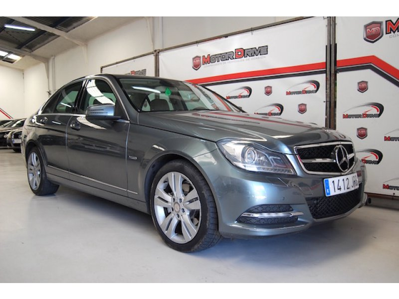 Mercedes-Benz Clase C C 250 CDI Blue Efficiency Avantgarde