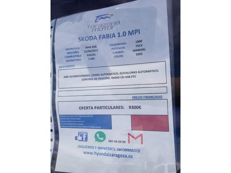 Skoda Fabia 1.0 (75 CV) Ambition