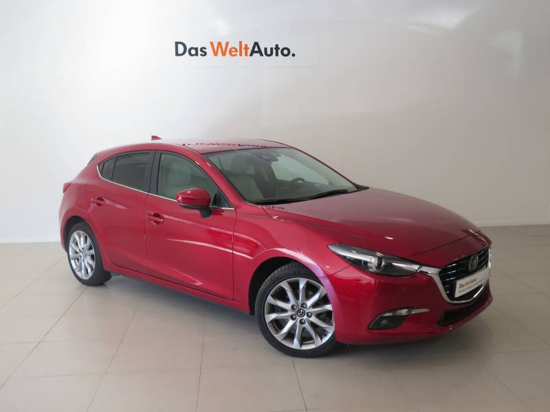 Mazda Mazda3 2.0 GE MT Luxury+Safety+Cuero Luxury+Safety+Cuero Blanco