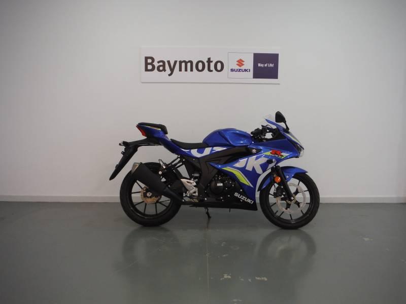 Suzuki-Moto GSX-R125 .