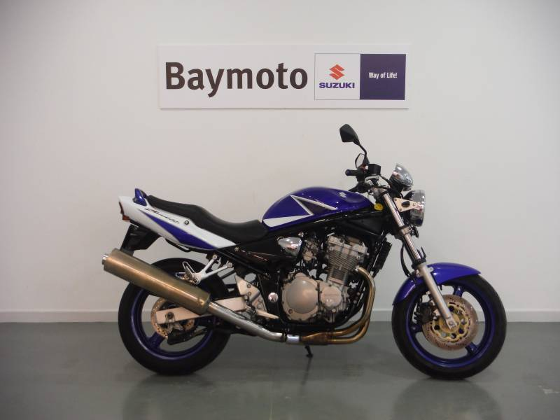 Suzuki-Moto Bandit 650 .