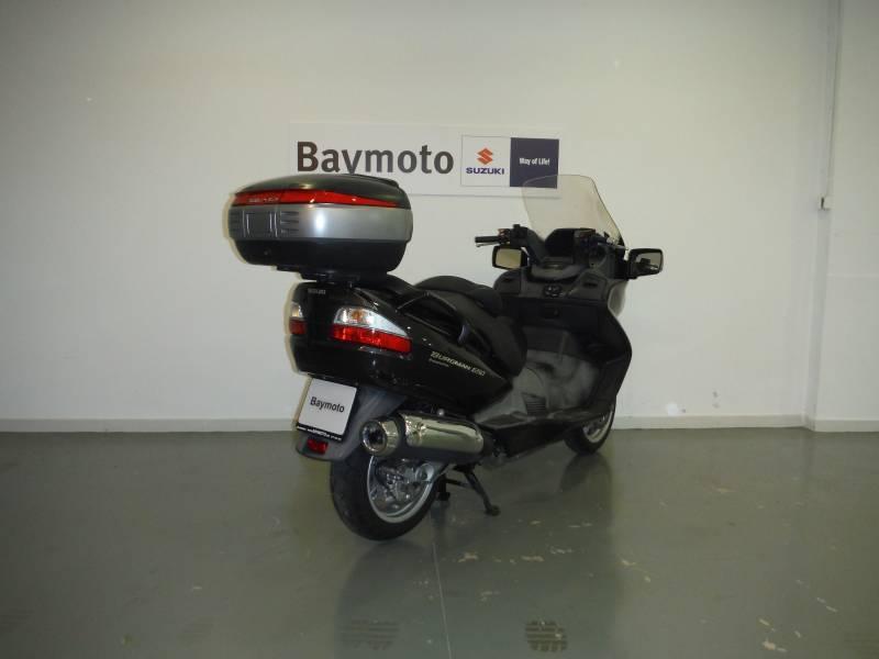 Suzuki-Moto Burgman 650 Executive 650