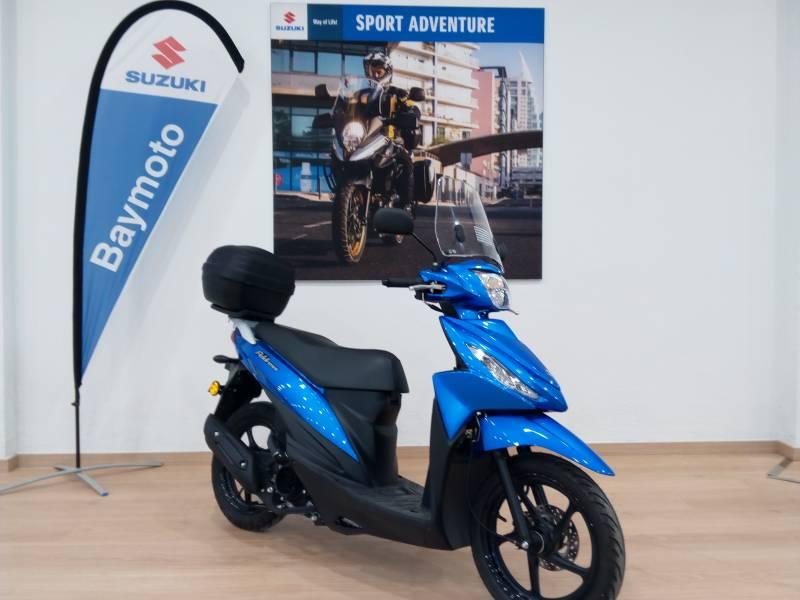 Suzuki-Moto Address 110 .