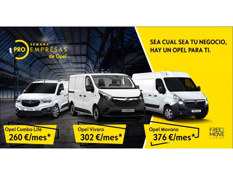 Opel  Sin determinar Semana Pro Empresas Opel Marcos Motor