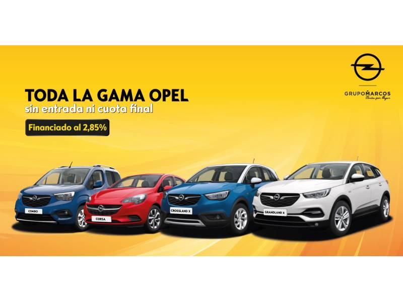 Opel  Sin determinar Toda la Gama Opel