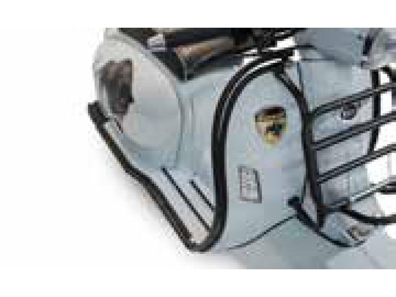 Scomadi Turismo Leggera TL 125 125 Embellecedores laterales negros SCOMADI