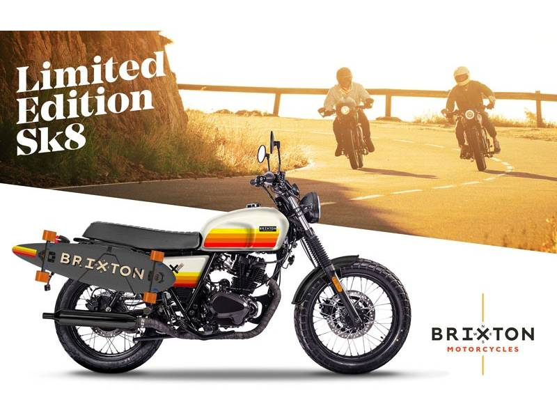 Brixton Motorcycles SK8 125CC 4T
