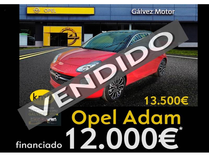 Opel Adam 1.4 XEL GLAM UNLIMITED