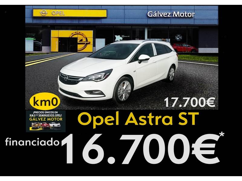 Opel Astra 1.4 Turbo 92kW (125CV)   ST Dynamic