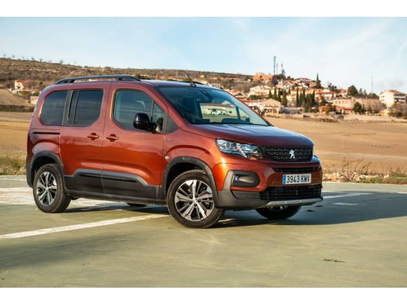 Peugeot Rifter Standard PureTech 81kW Active
