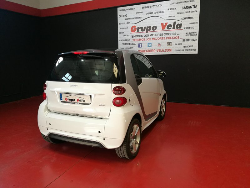 Smart Fortwo Coupé 62 White Series