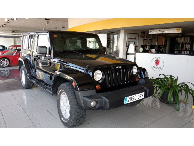 Jeep Wrangler Unlimited 2.8 CRD Doble Techo Sahara