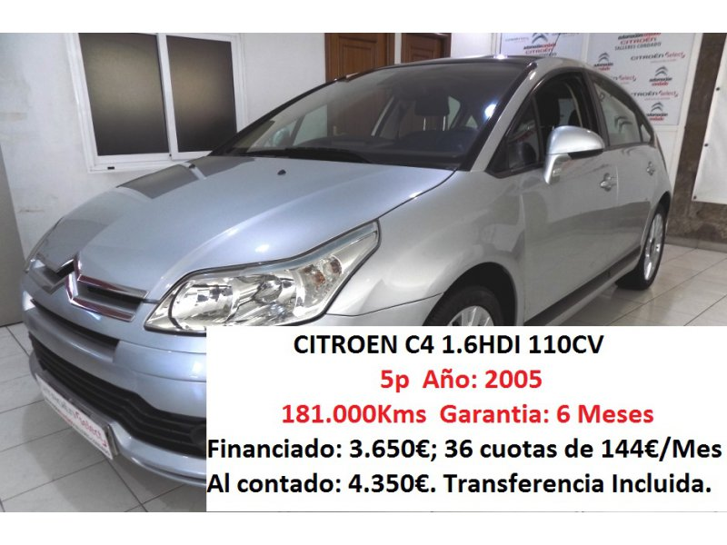 Citröen C4 1.6 HDi 92 VTR Plus