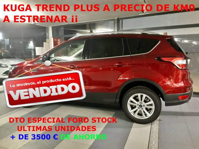 Ford Kuga 1.5 ECOBOOST A-S-S 120 CV Trend+