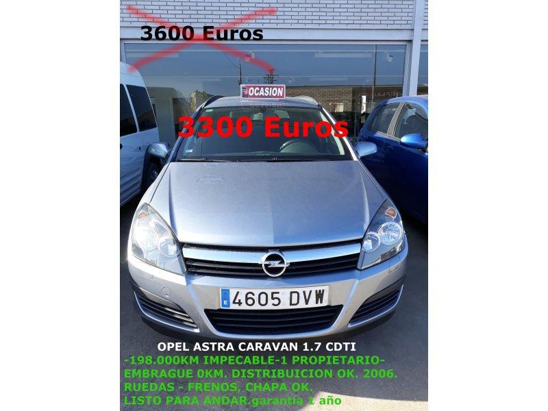 Opel Astra 1.7 CDTi 100 CV SW Enjoy